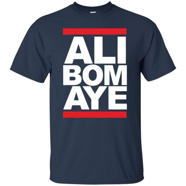 ali bomaye t shirt - navy blue