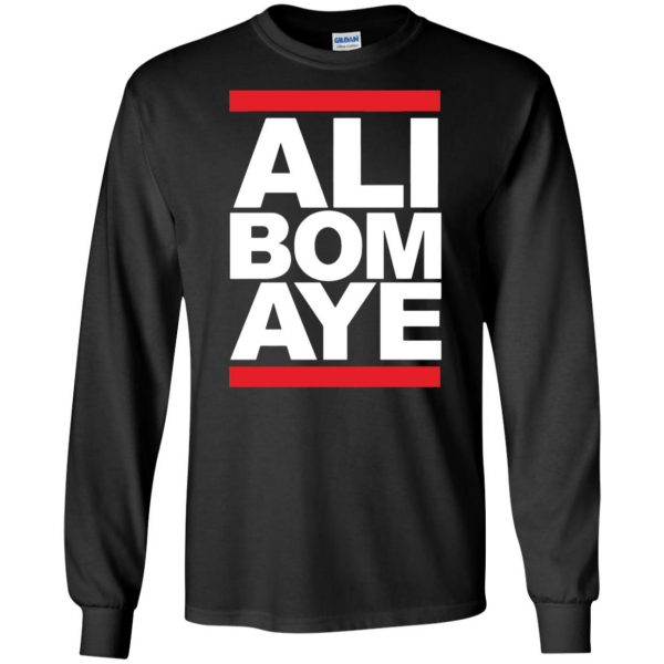 ali bomaye long sleeve - black