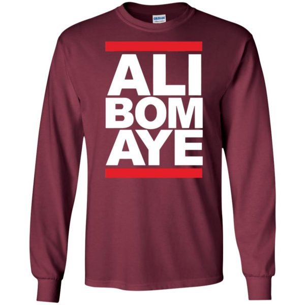 ali bomaye long sleeve - maroon