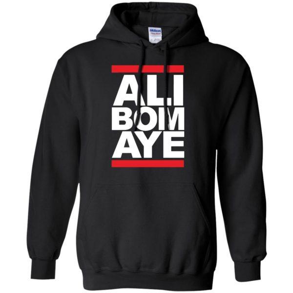 ali bomaye hoodie - black