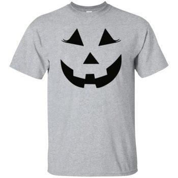Pumpkin Face t-shirt - sport grey