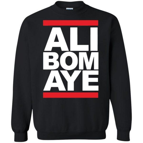 ali bomaye sweatshirt - black