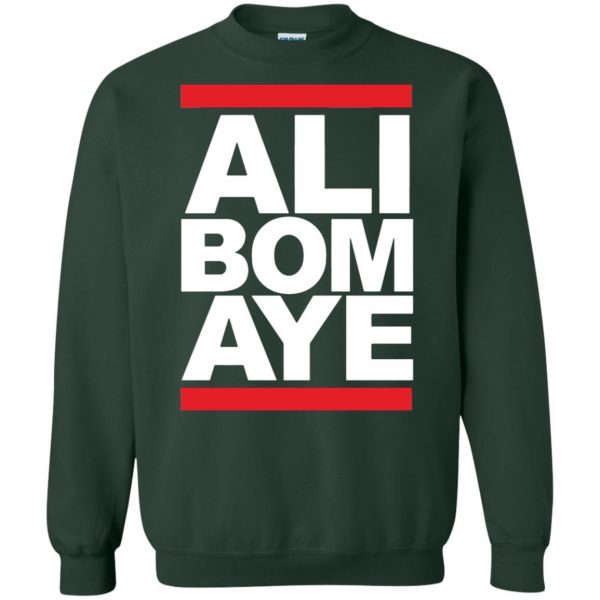 ali bomaye sweatshirt - forest green