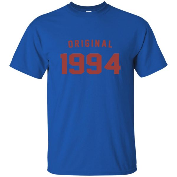 Original 1994 t shirt - royal blue