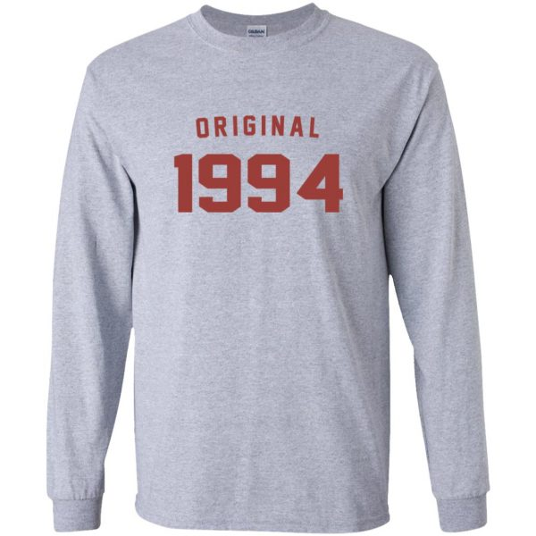 Original 1994 long sleeve - sport grey