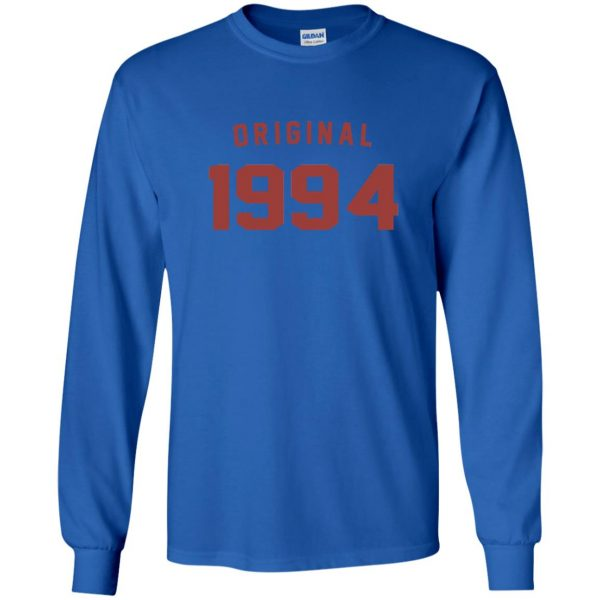 Original 1994 long sleeve - royal blue
