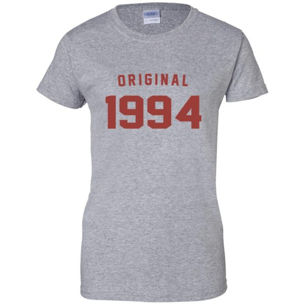 Original 1994 womens t shirt - lady t shirt - sport grey