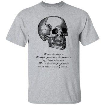 hamlet t shirt - sport grey
