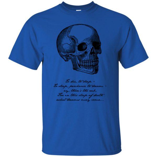 hamlet t shirt - royal blue