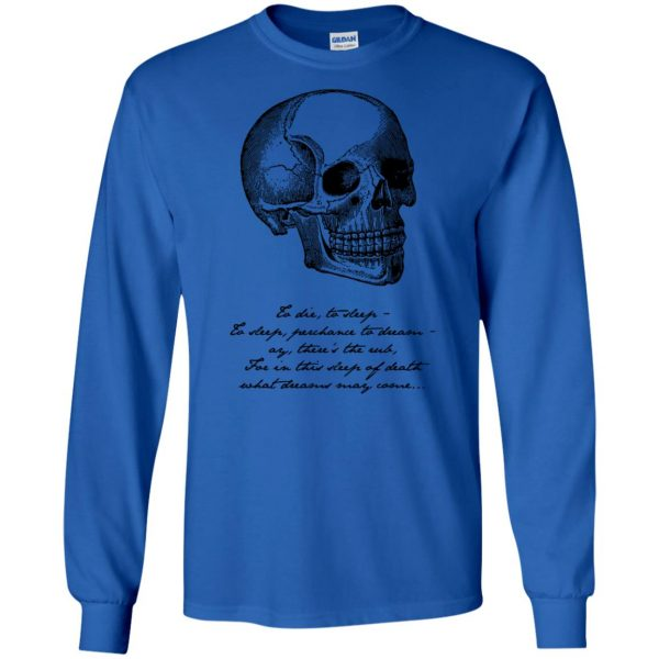 hamlet long sleeve - royal blue