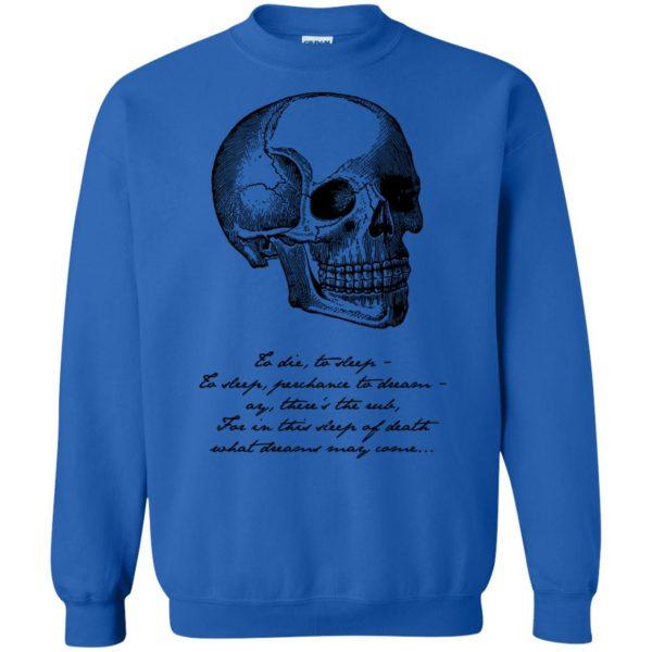 hamlet sweatshirt - royal blue