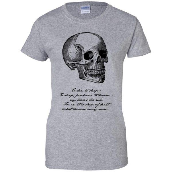 hamlet womens t shirt - lady t shirt - sport grey