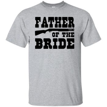 father of the bride shirt - sport grey