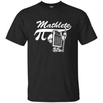 mathlete t shirts - black