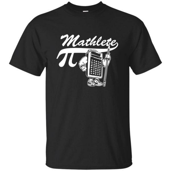 mathlete t shirts - black