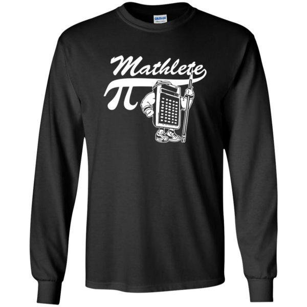 mathlete long sleeve - black