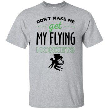 flying monkeys t shirts - sport grey