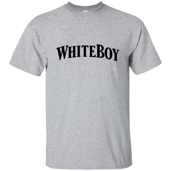 white boy tshirt - sport grey