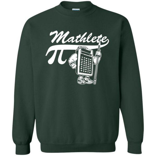 mathlete sweatshirt - forest green