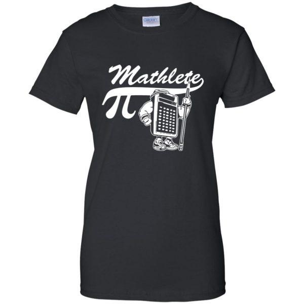 mathlete womens t shirt - lady t shirt - black