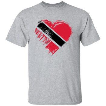 trini t shirts - sport grey