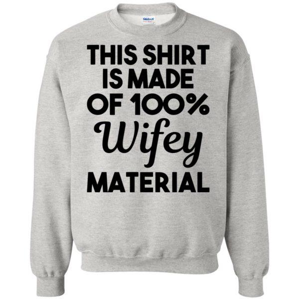 wifey material sweatshirt - ash