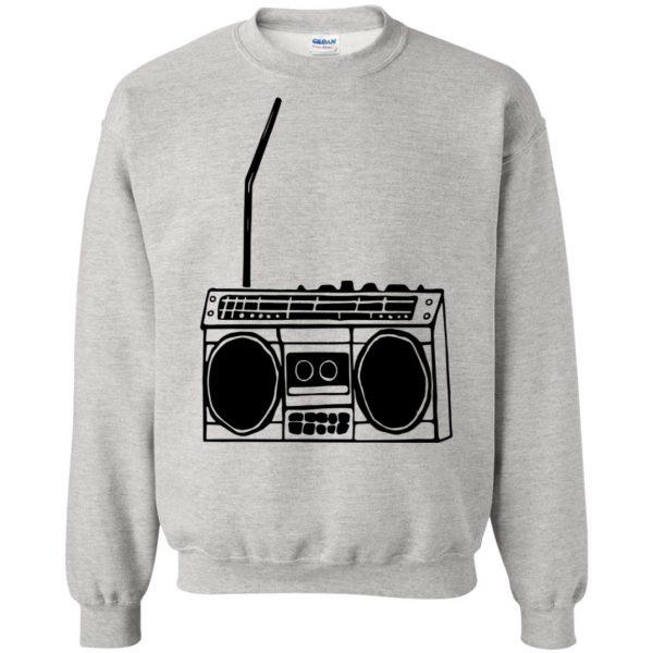 boom box sweatshirt - ash