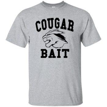cougar bait shirt - sport grey