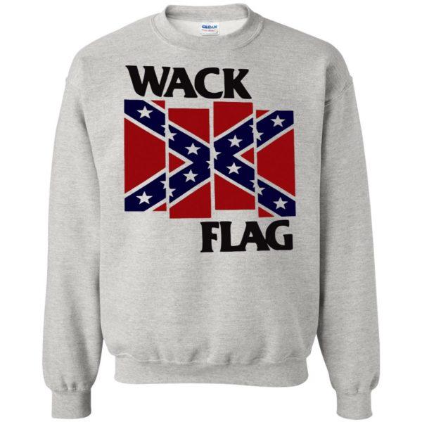 rebel flag sweatshirt - ash