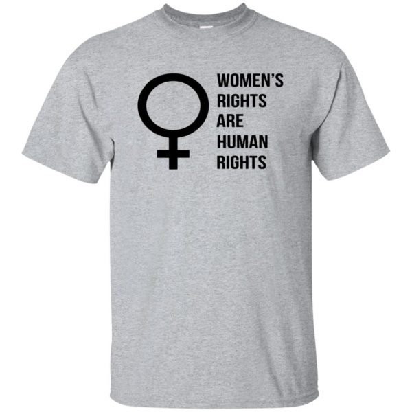 womens rights shirt - sport grey