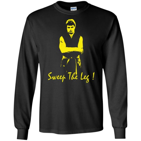 sweep the leg long sleeve - black