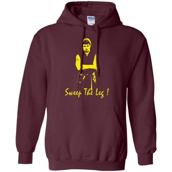 sweep the leg hoodie - maroon