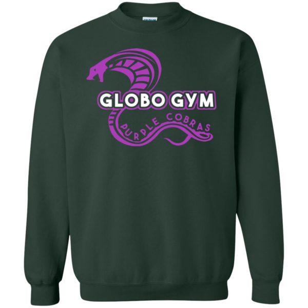 globo gym sweatshirt - forest green