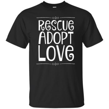 animal rescue hoodies - black