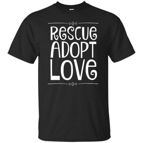 animal rescue hoodies - black