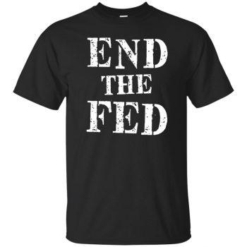 end the fed shirt - black