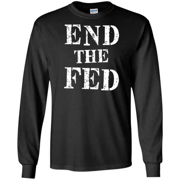 end the fed long sleeve - black