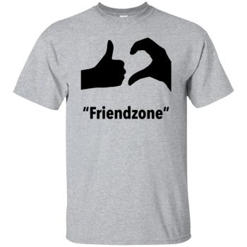 friendzone shirt - sport grey
