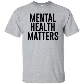 mental illness t shirts - sport grey