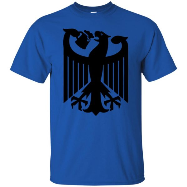 german eagle t shirt - royal blue