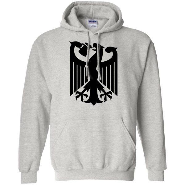 german eagle hoodie - ash