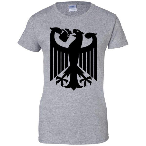 german eagle womens t shirt - lady t shirt - sport grey