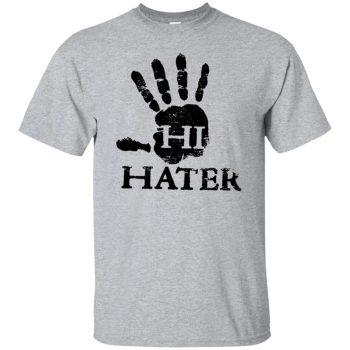 hi hater shirt - sport grey