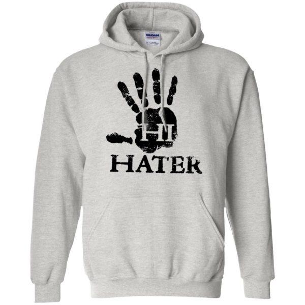 hi hater hoodie - ash