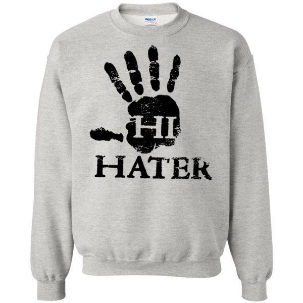 hi hater sweatshirt - ash