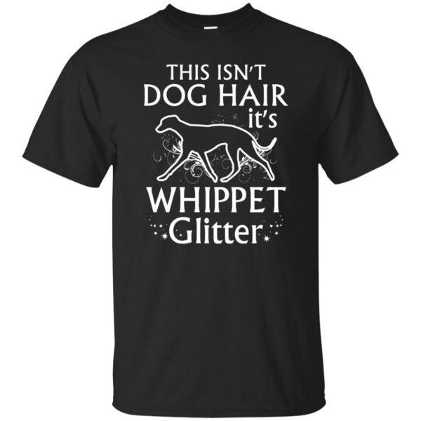 whippet t shirt - black