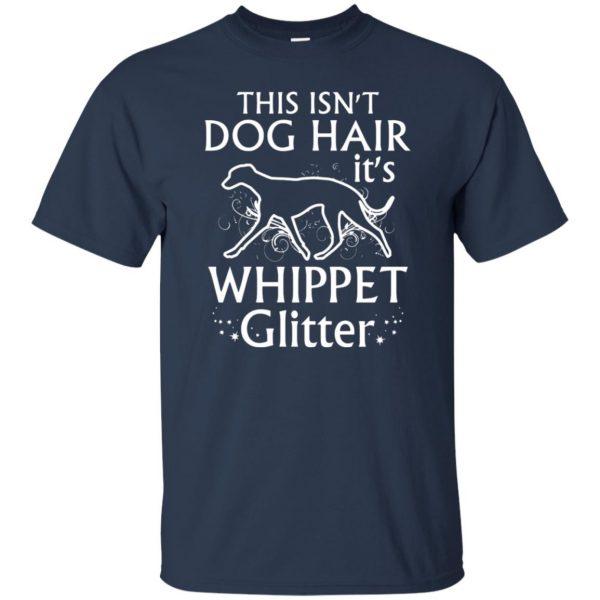 whippet t shirt - navy blue