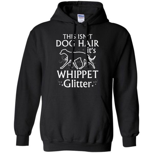 whippet hoodie - black