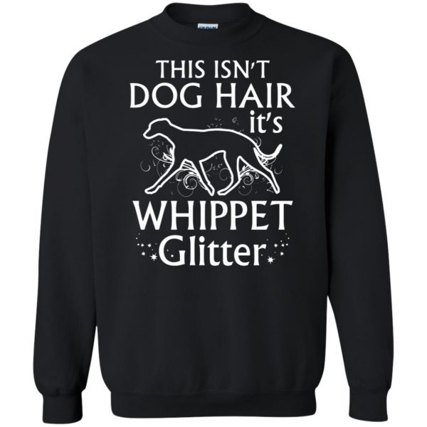 whippet sweatshirt - black