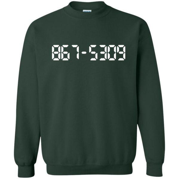 8675309 sweatshirt - forest green